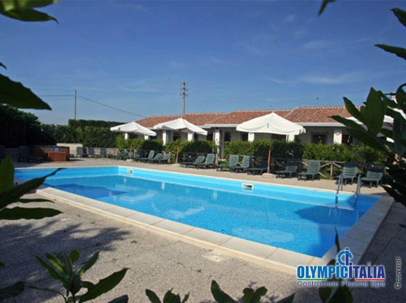 Costruzione Piscina Hotel Capalbio