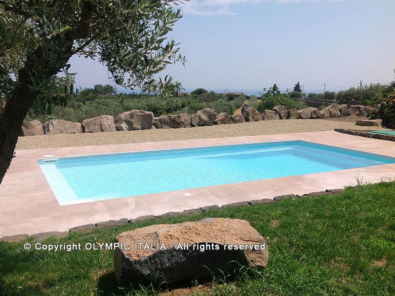 Costruzione piscina prefabbricata Catania